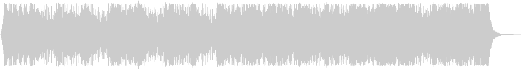 【オーケストラ】壮大で緊迫感のある曲の未再生の波形