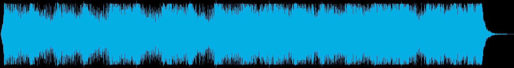 【オーケストラ】壮大で緊迫感のある曲の再生済みの波形