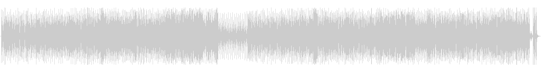 クッキングとヘアメイク動画に合うポップスの未再生の波形