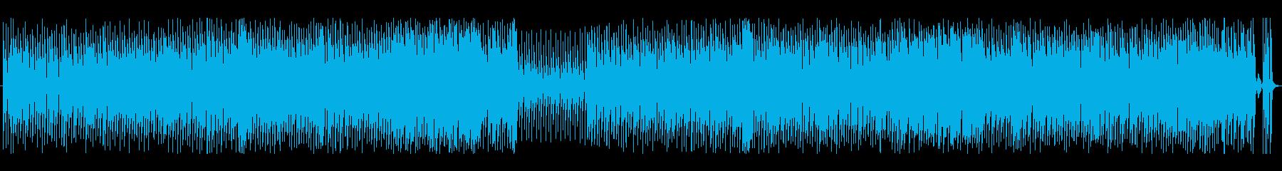 クッキングとヘアメイク動画に合うポップスの再生済みの波形