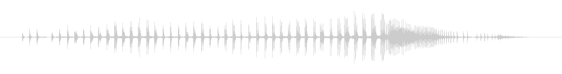 犬 チワワグロールストレインド02の未再生の波形