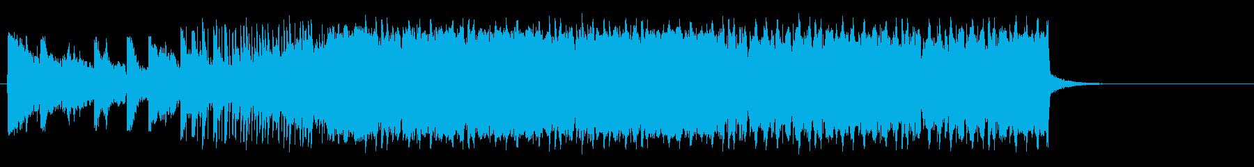 コード感がかっこいいドラムンベースの再生済みの波形