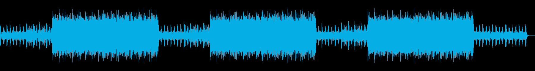 平和で牧歌的なヒップホップBGMの再生済みの波形