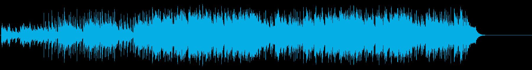 のんびりと爽やかなポップ(イントロ~…)の再生済みの波形