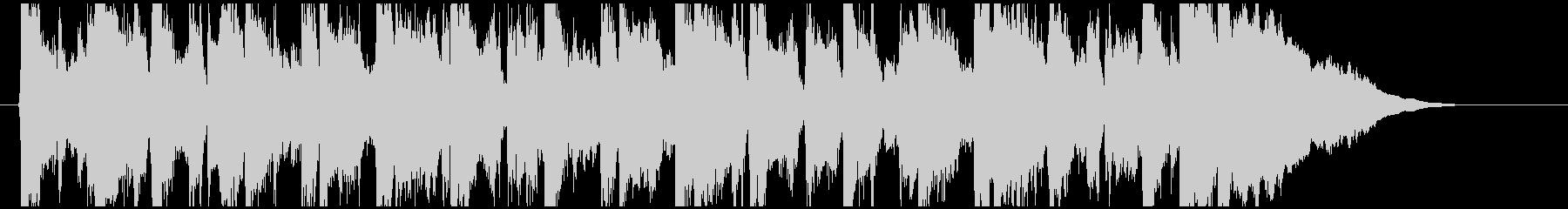 フィドルとアコギが軽快なアコースティックの未再生の波形