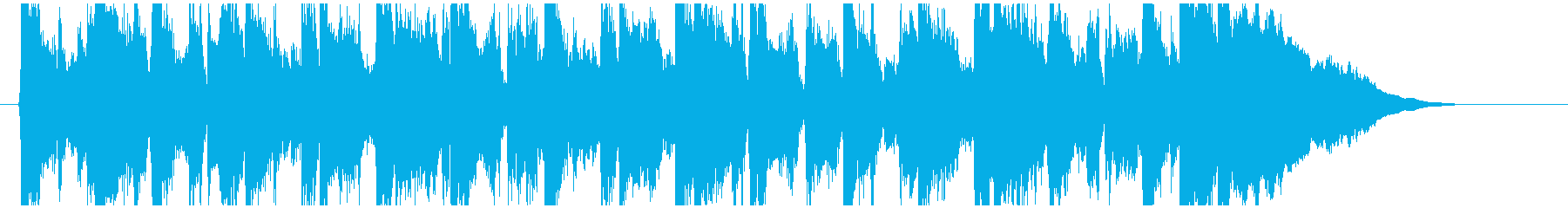 フィドルとアコギが軽快なアコースティックの再生済みの波形