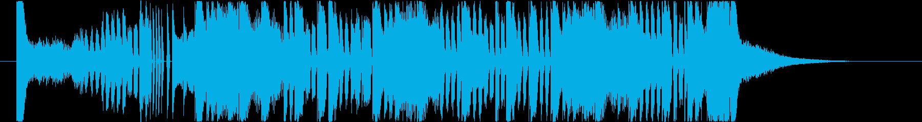 未来的なサイバーダブステップ/EDM2の再生済みの波形