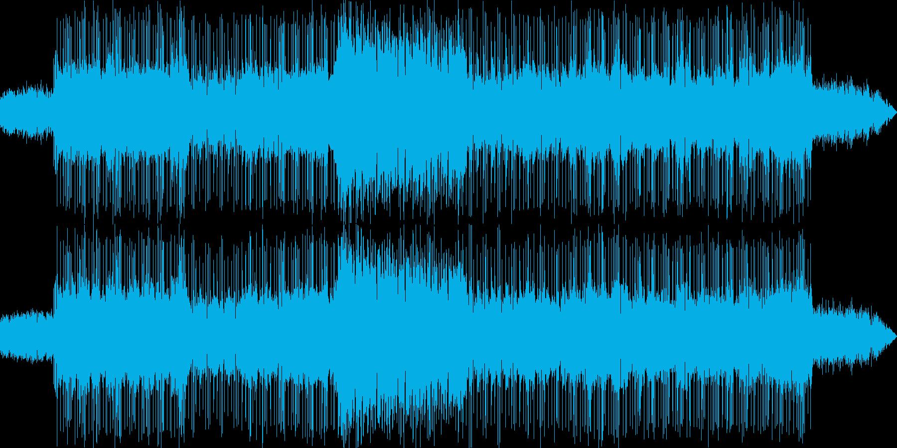 背景をポップします。ロックアベレー...の再生済みの波形