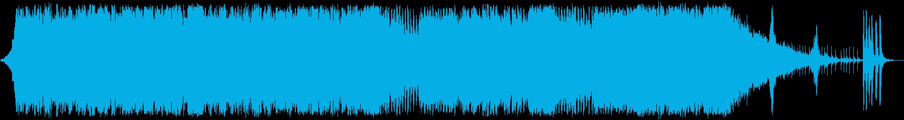 大海原へ羽ばたく希望の疾走オーケストラaの再生済みの波形