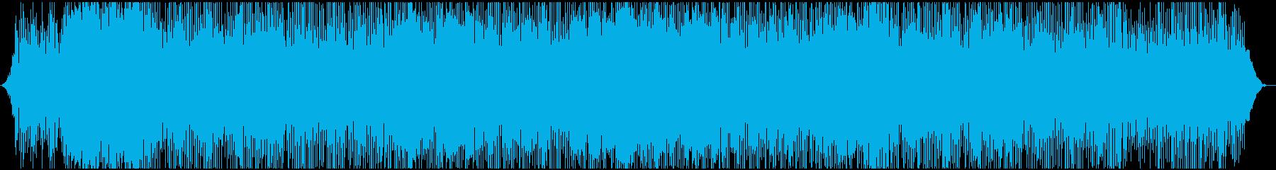 ポップ テクノ アンビエント アク...の再生済みの波形
