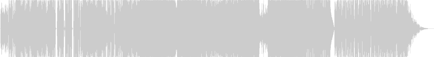 SONIC WAVEの未再生の波形