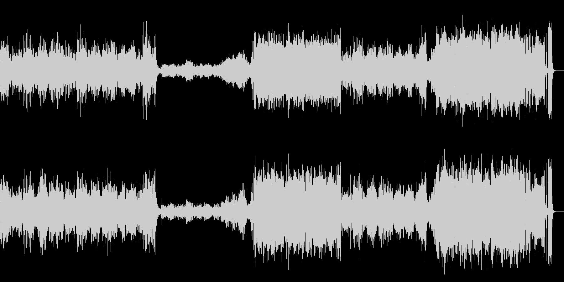 『威風堂々 』 第1番 オーケストラの未再生の波形