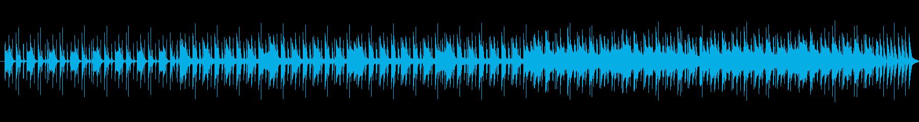 【ダメ男のテーマ】ふわふわ脱力感の再生済みの波形