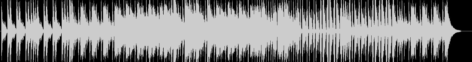ピアノ、コントラバス、ドラムを中心にし…の未再生の波形