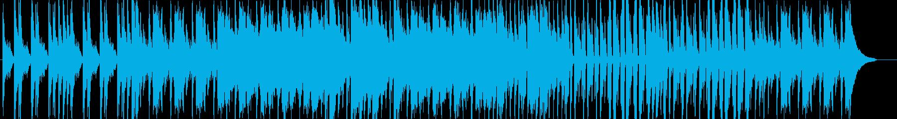 ピアノ、コントラバス、ドラムを中心にし…の再生済みの波形