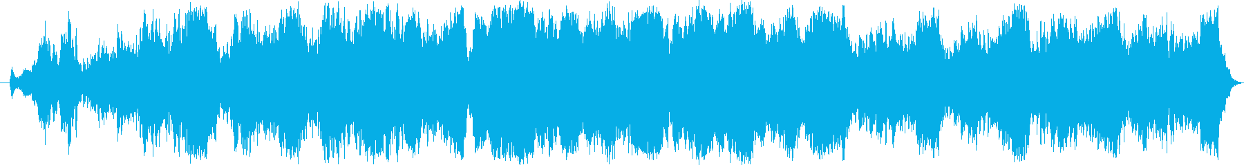 穏やかなクラシック音楽の再生済みの波形