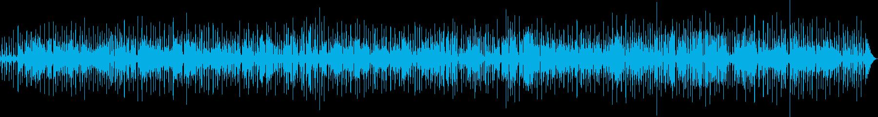 ラウンジ・バーに流れる大人のジャズの再生済みの波形