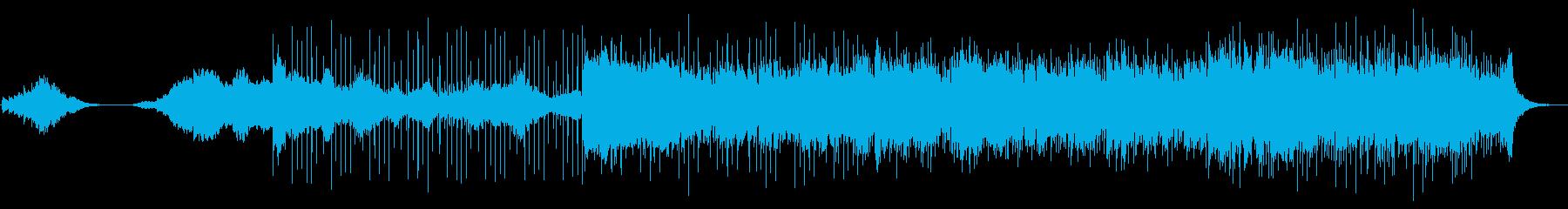 このアンダースコアキューは、劇的な...の再生済みの波形