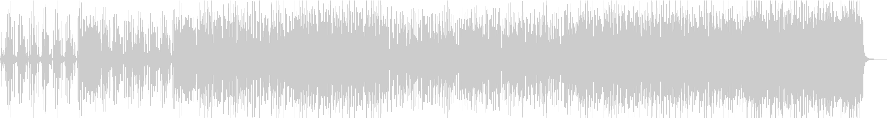 ファンキーでパンチの効いたビッグバンドの未再生の波形
