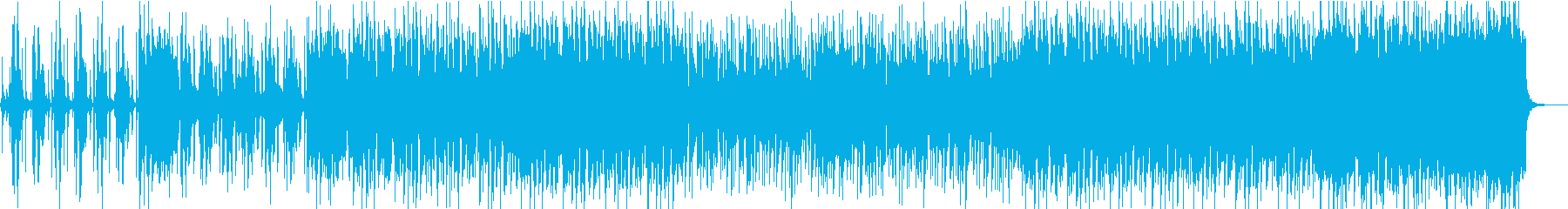 ファンキーでパンチの効いたビッグバンドの再生済みの波形