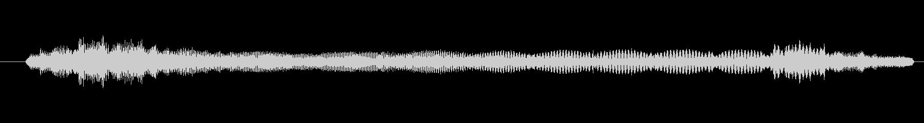 特撮 インターフェース計算05の未再生の波形