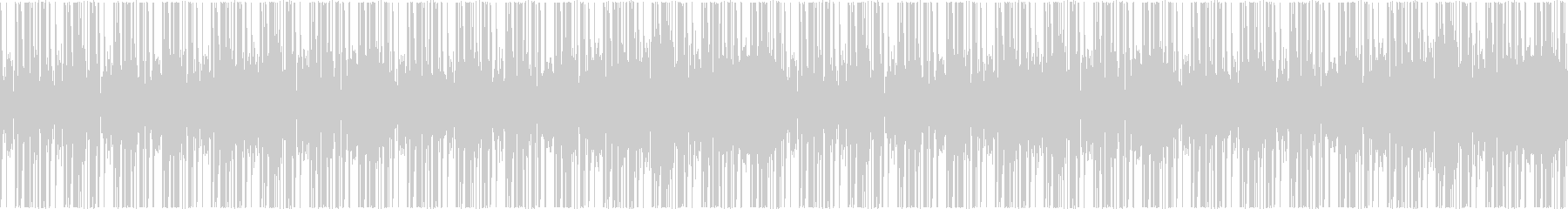 リズムのみの高音質トラック【ループ可】の未再生の波形