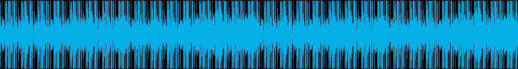 リズムのみの高音質トラック【ループ可】の再生済みの波形