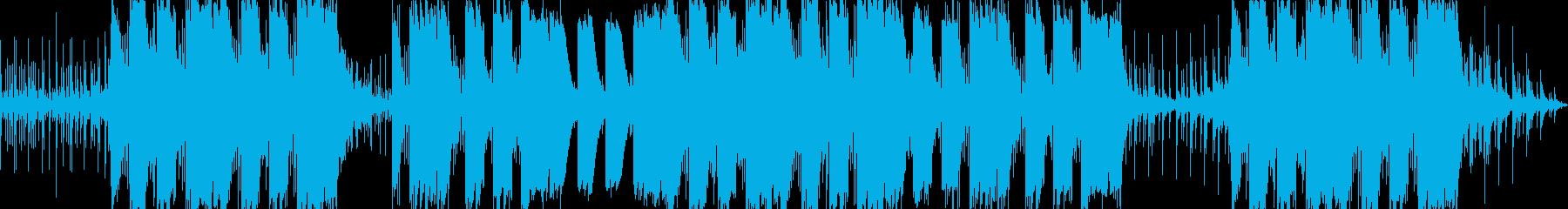 疾走感のあるシンセのエモトラップの再生済みの波形