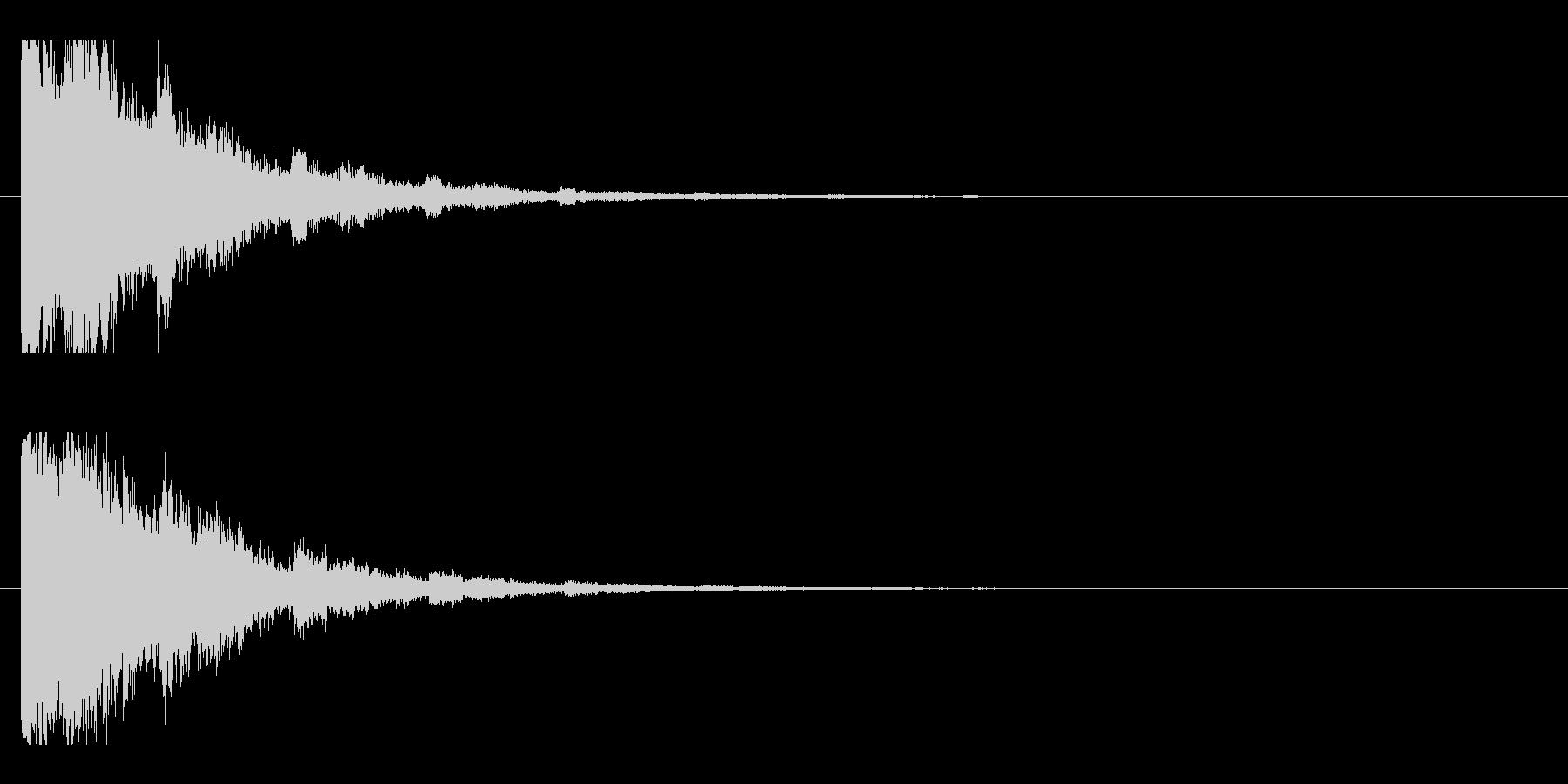 レーザー音-05-2の未再生の波形