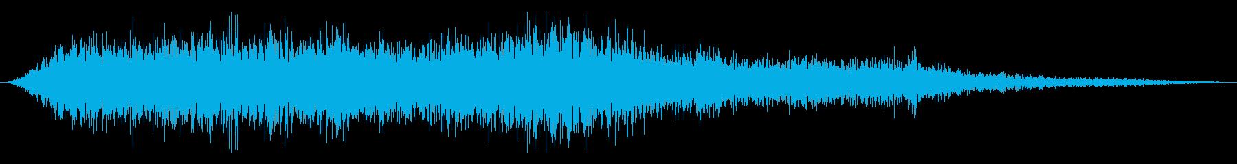 シューッという音EC07_88_6の再生済みの波形