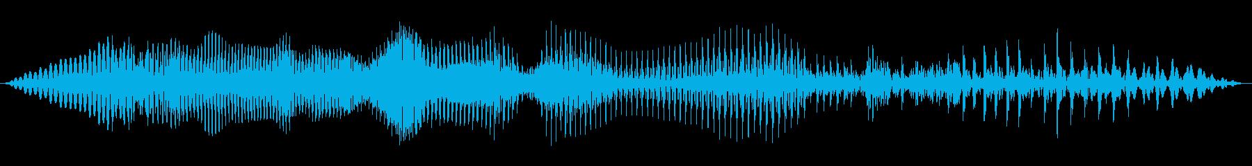 ビデオゲーム:ヒューマンボイスクリ...の再生済みの波形