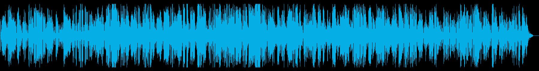お洒落なクラリネットとジャズピアノ音源の再生済みの波形