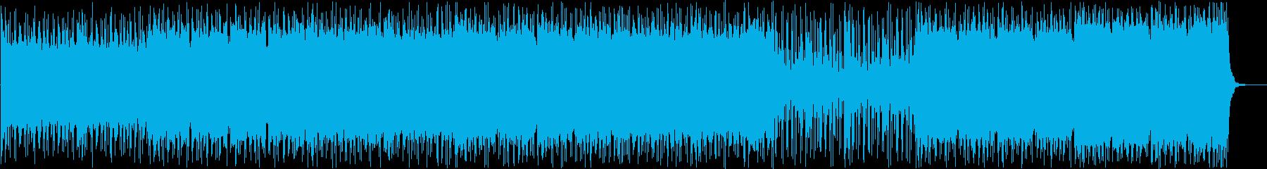怪しい場面、事件やバトルに合うBGMの再生済みの波形
