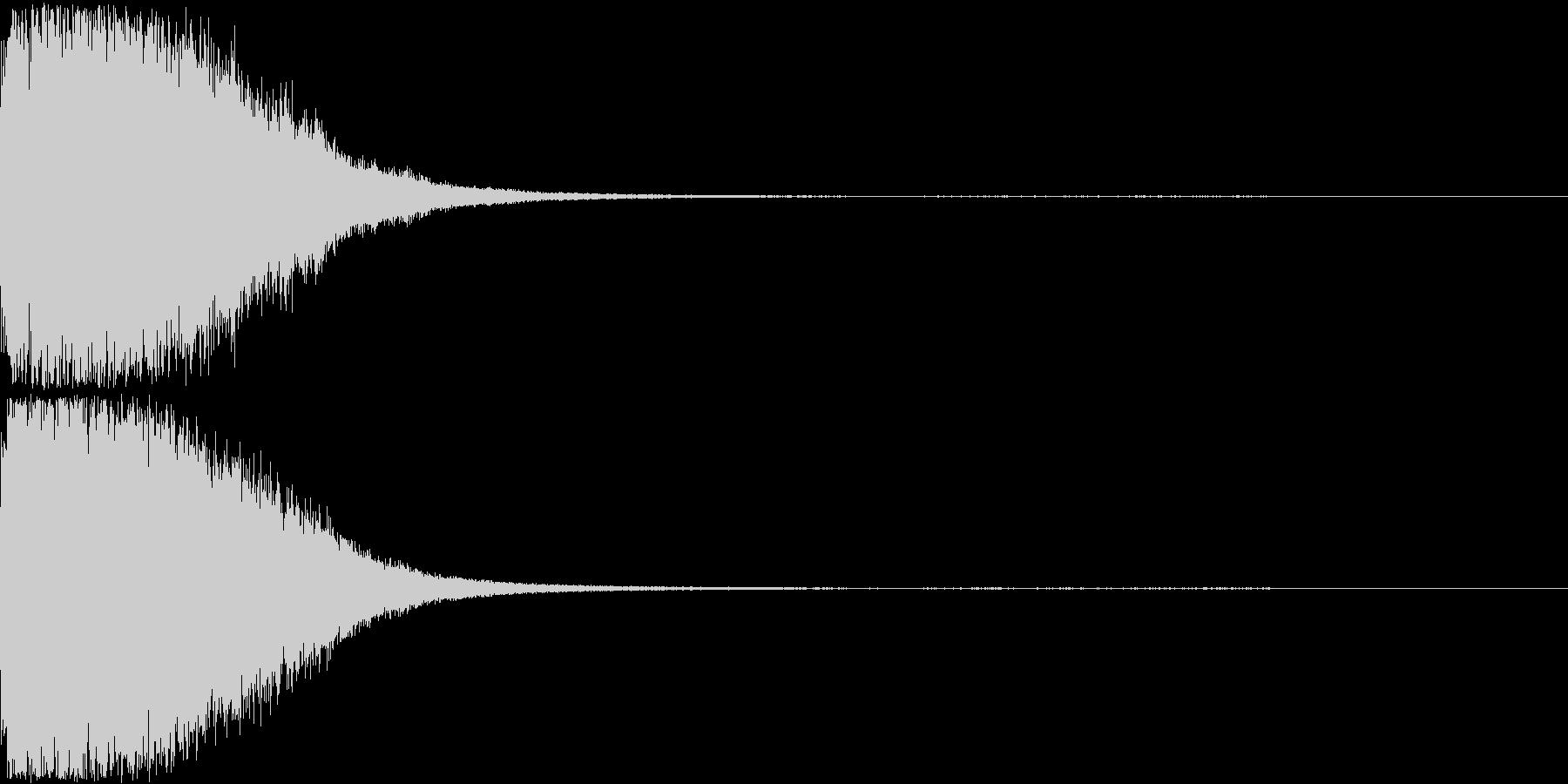 刀 剣 ソード カキーン キュイーン11の未再生の波形