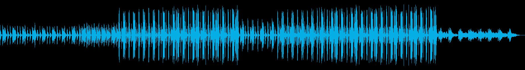 レトロ どんより トラップビートの再生済みの波形