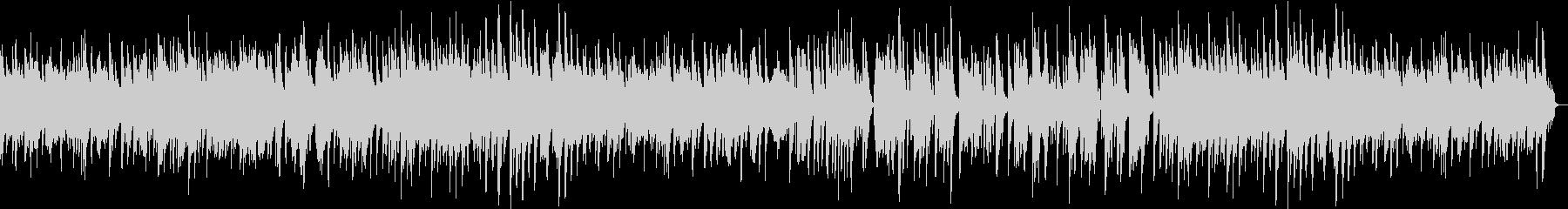 ほのぼのしたハーモニカのバラードの未再生の波形