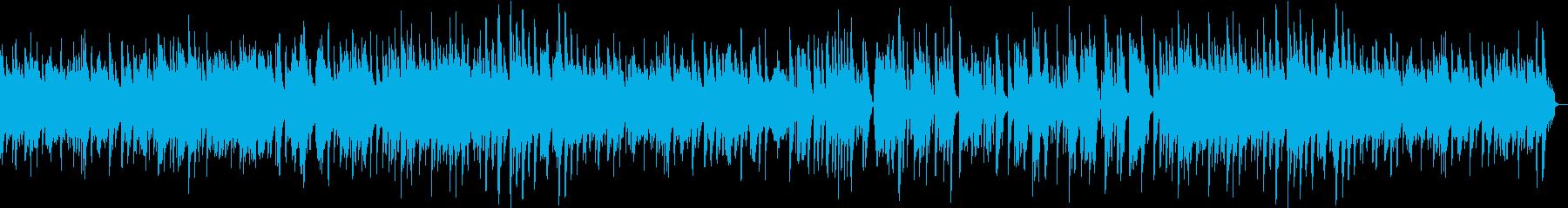 ほのぼのしたハーモニカのバラードの再生済みの波形