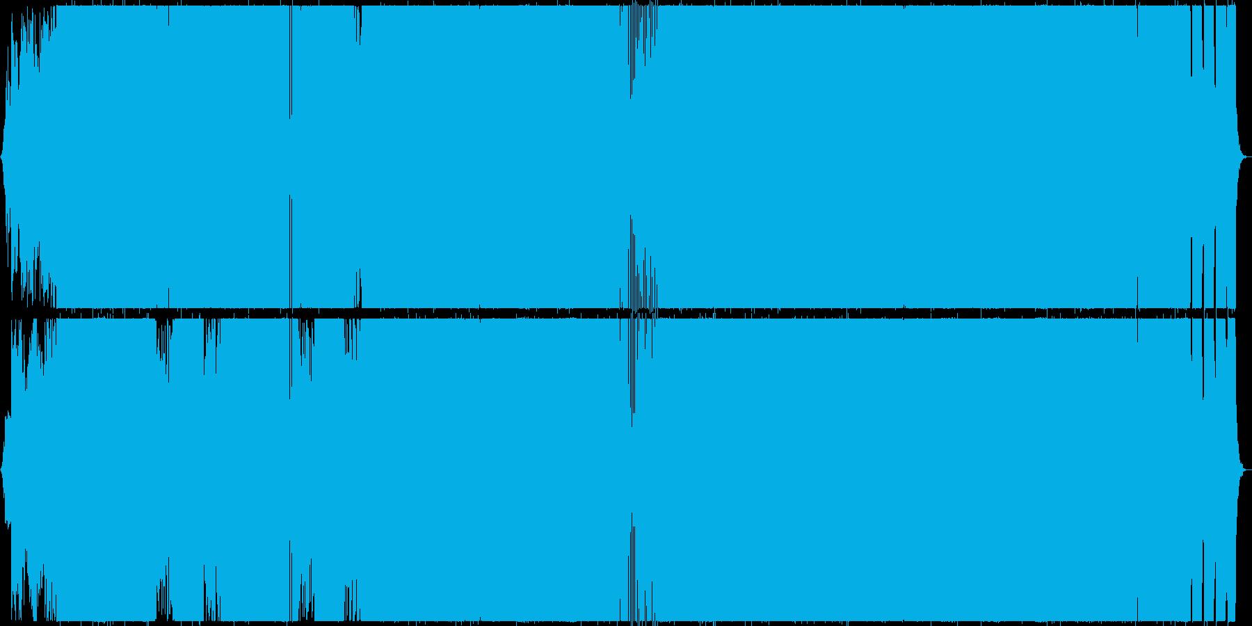 力強くも流麗なJロックの再生済みの波形