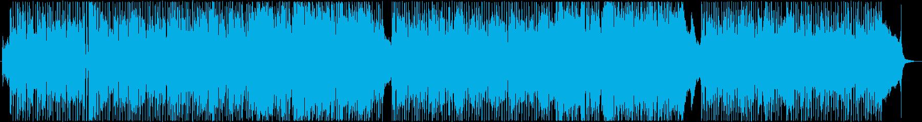 嵐~星での暮らし~の再生済みの波形