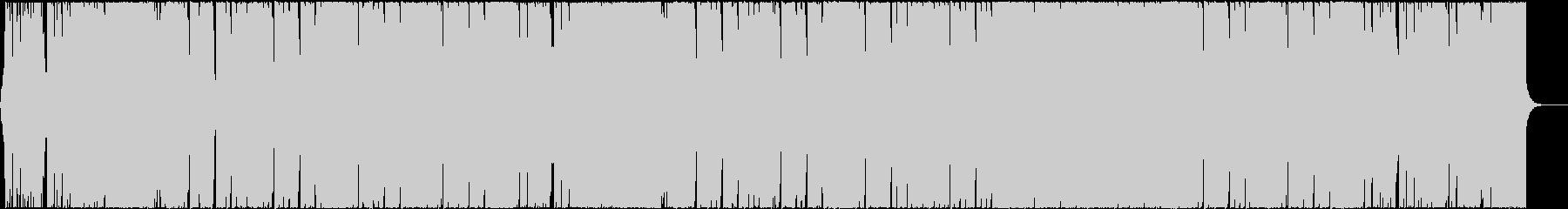 華やかでエネルギッシュなエレクトロハウスの未再生の波形