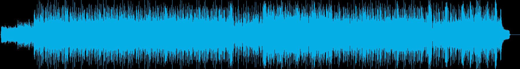 小粋でダンサンブルなテクノ・ハウス風の再生済みの波形