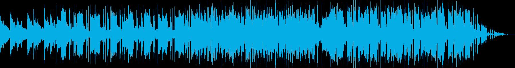 現代風シティポップの再生済みの波形