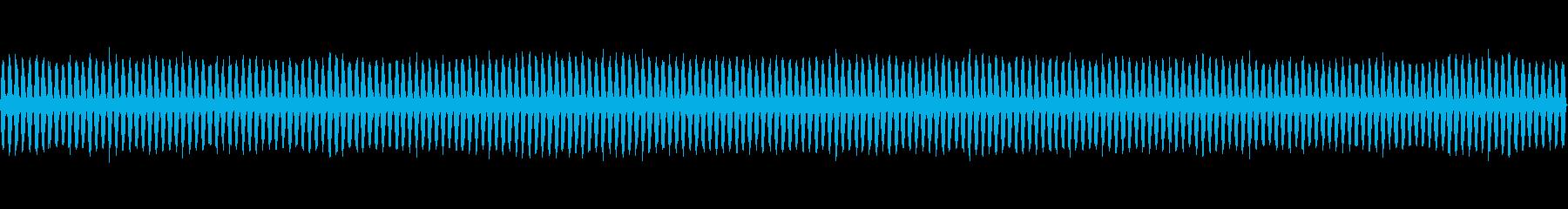 スチームホースヒス、リズミカルチャギングの再生済みの波形