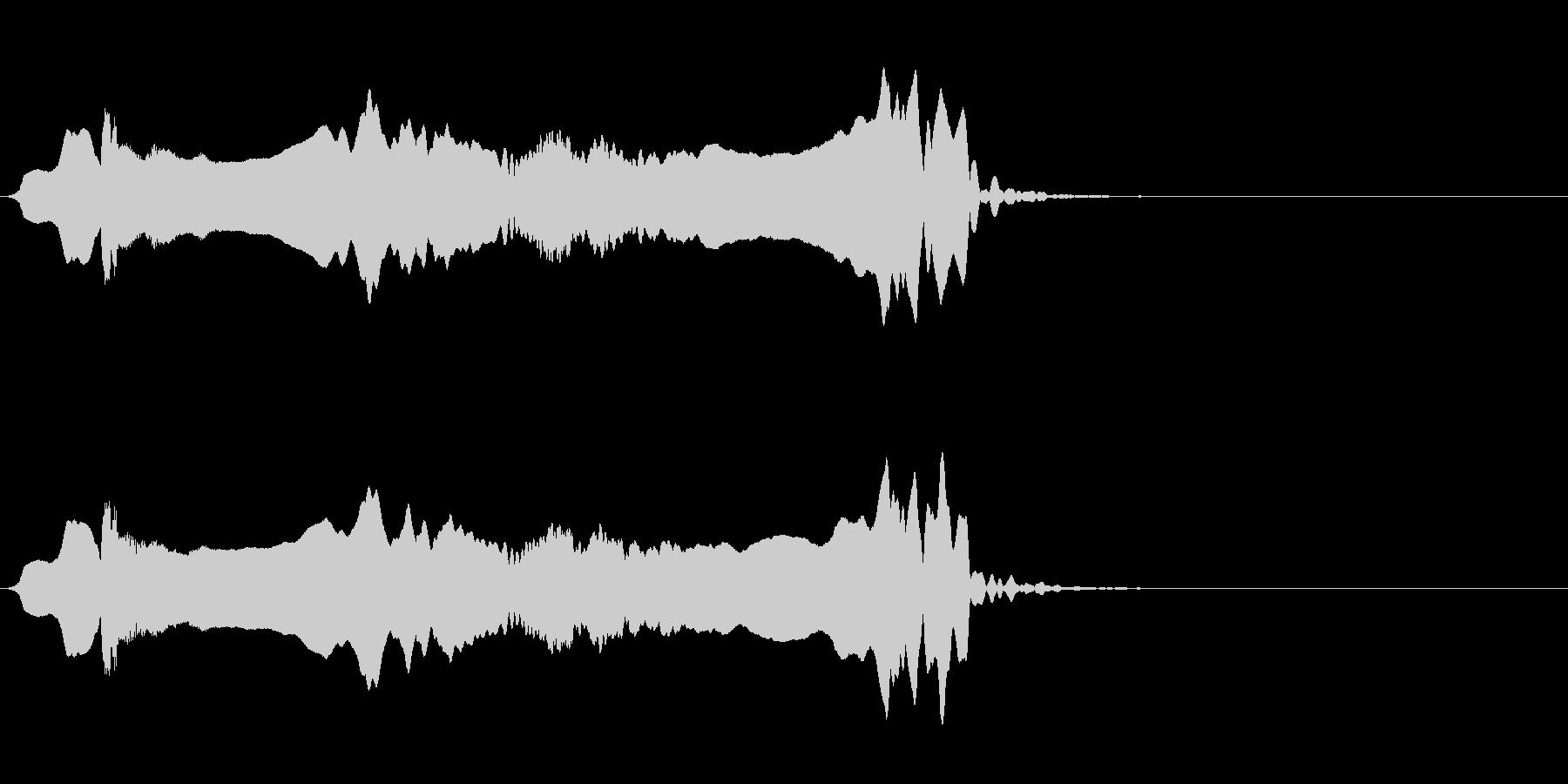 尺八 生演奏 古典風 残響音有 #15の未再生の波形