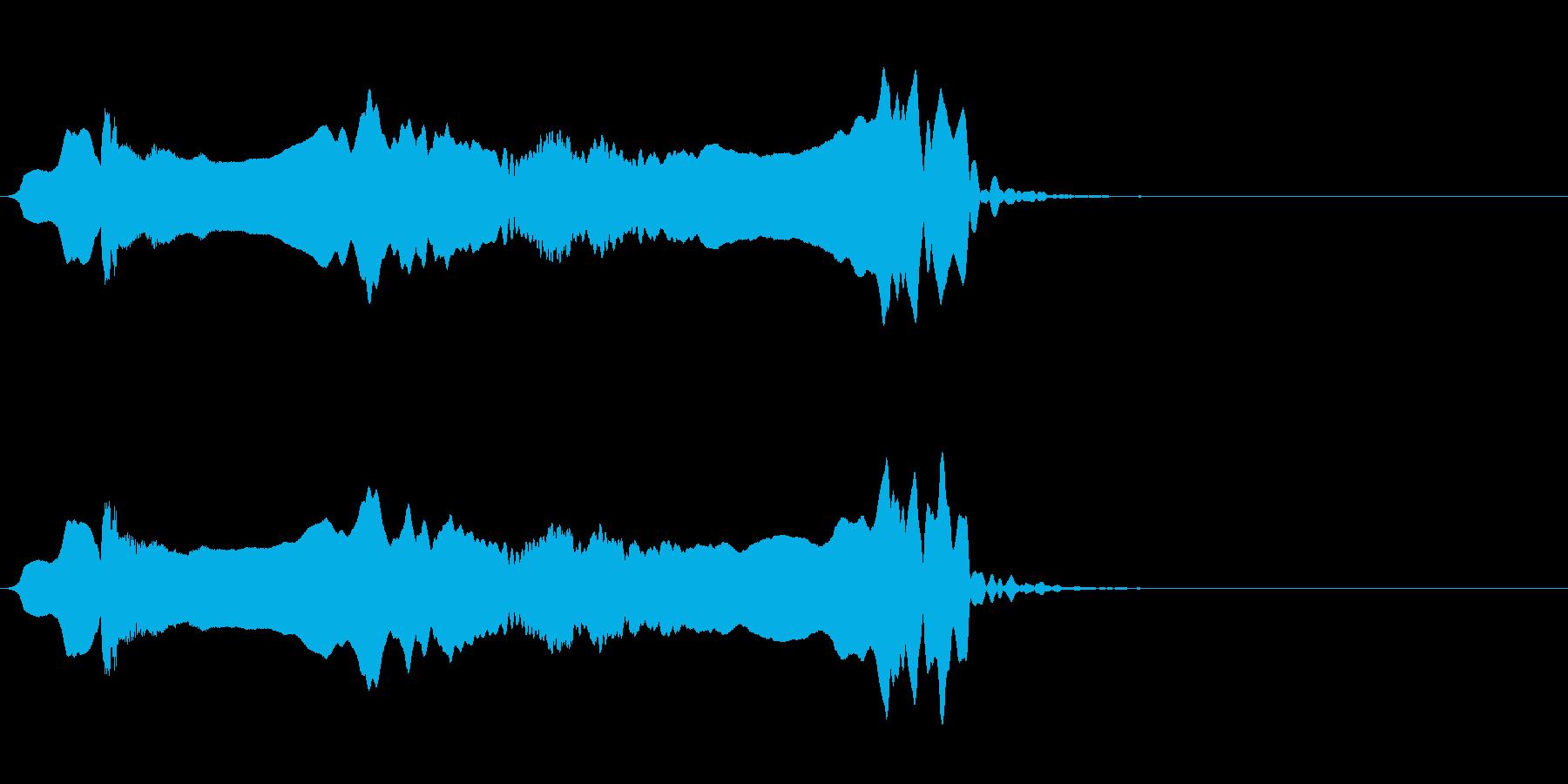 尺八 生演奏 古典風 残響音有 #15の再生済みの波形