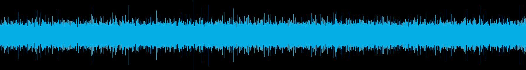 夏の田舎の用水路の水音 ループの再生済みの波形