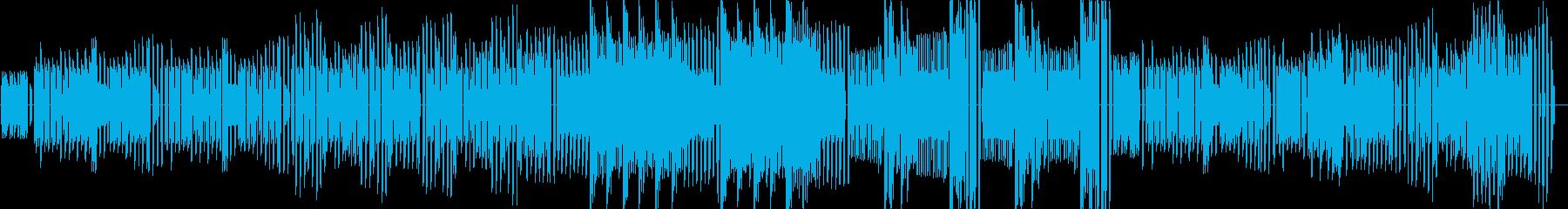 KANT運動会曲クシコスポスト8bitの再生済みの波形
