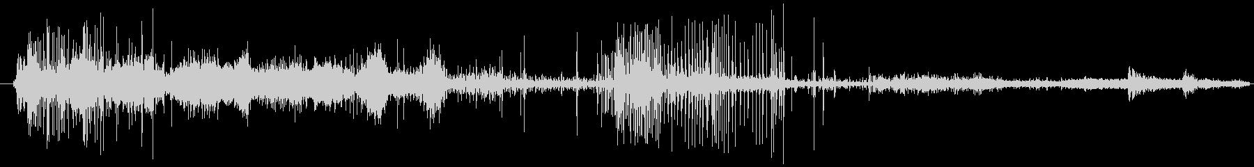 イメージ クレイジートーク11の未再生の波形