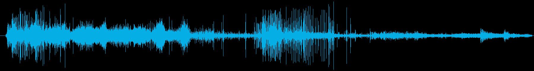 イメージ クレイジートーク11の再生済みの波形