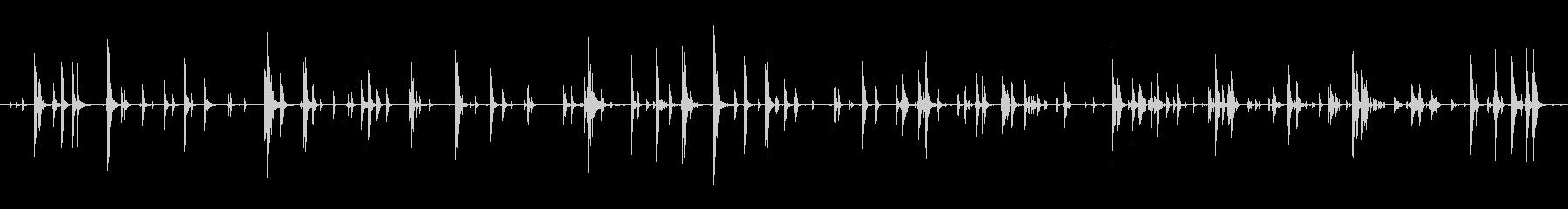 家庭 カップガラガラジングル01の未再生の波形